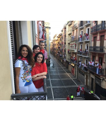 Rent the nº11 VIP Balcony in the middle of Estafeta (1nd floor) 2017