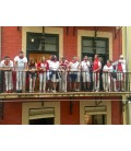 BLIND OFFER 'ONLY ONE LEFT': rent a balcony spot for the running of the bulls 2019